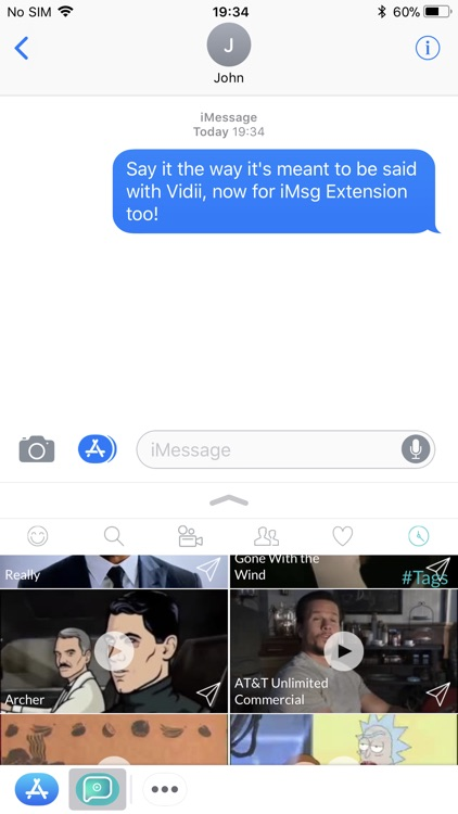 Vidii For iMessage