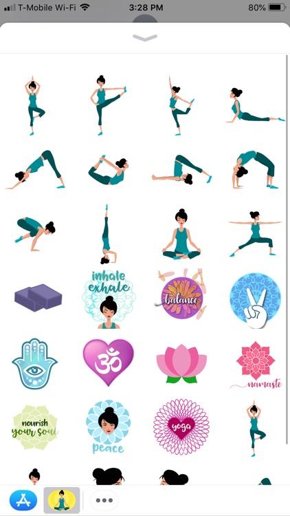 Yogi Stickers