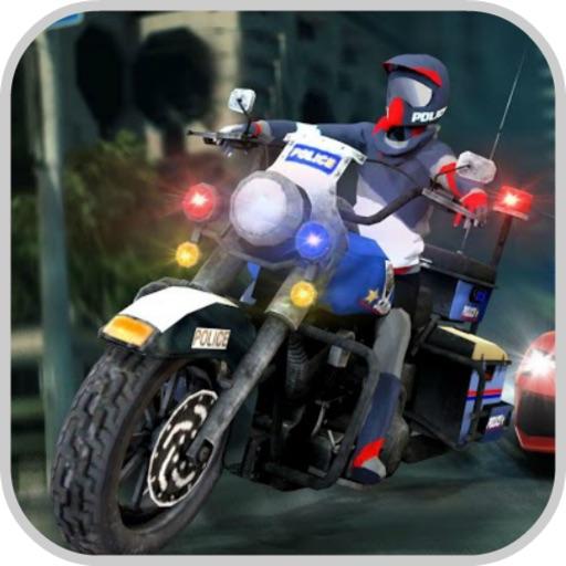 Fast Police Bike:Hero Simulato