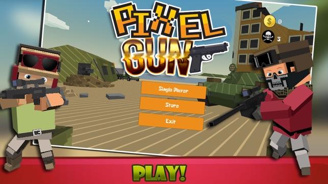 best pixel gun 3d player