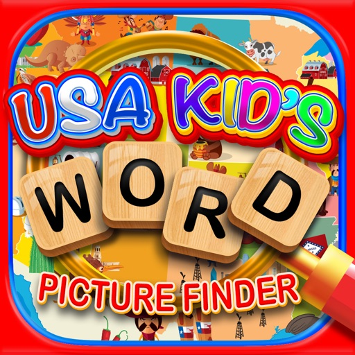 Kids USA Explorers - Educational Hidden Word Games