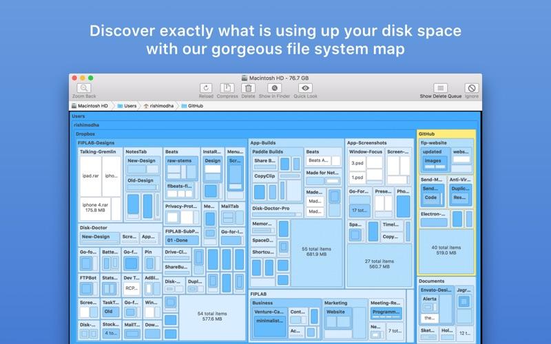 Disk Map Screenshot