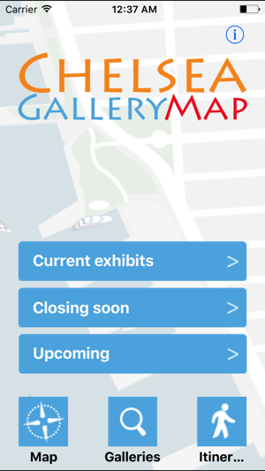 Chelsea Gallery Map im App Store on