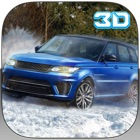 4x4 Crazy Snow Jeep Simulator 3D icon