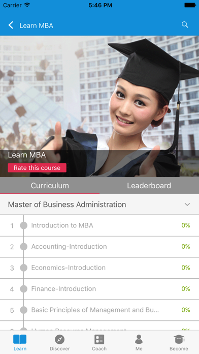 Learn MBA and Accounting screenshot two