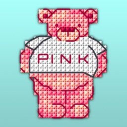 Cross Stitch Pink