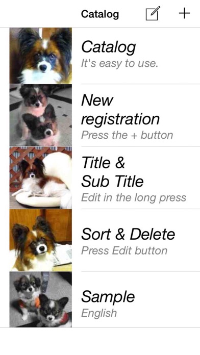 Screenshot for Catalog - You can easily create a Catalog in United States App Store