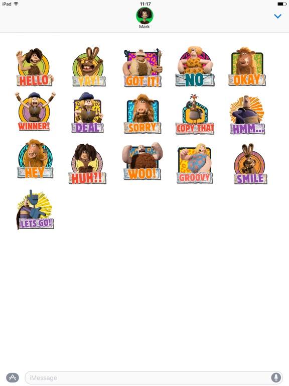 Early Man Stickers screenshot 5