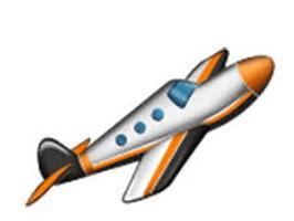 Airplane Exploji Stickers