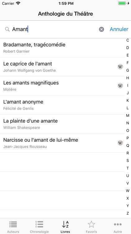 Anthologie du Théâtre screenshot-4