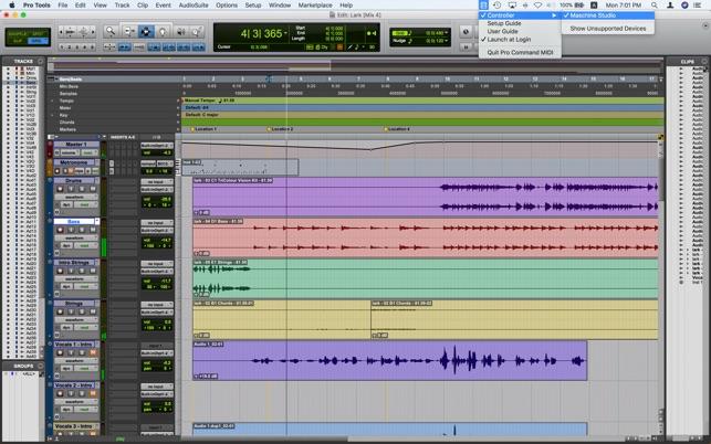 Pro Command MIDI