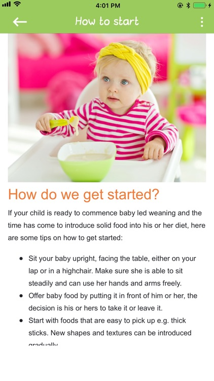 Baby Led Weaning screenshot-5