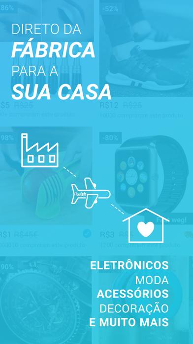 Screenshot for Wish - É divertido comprar in Brazil App Store