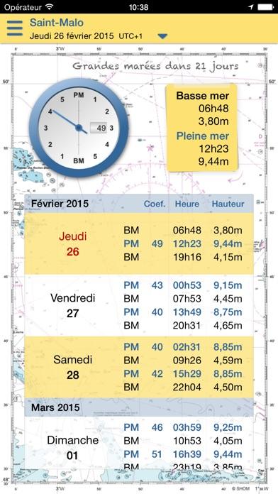 marée.info Essentiel screenshot two