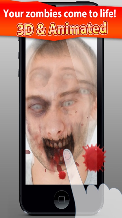 ZombieBooth: 3D Zombifier screenshot-1