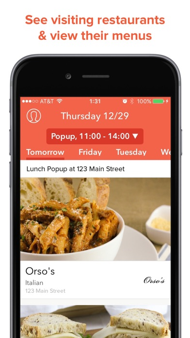 Fooda - Office Lunch Services for Windows