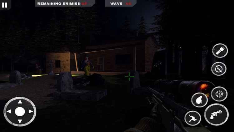 Horror Clown Sniper screenshot-3