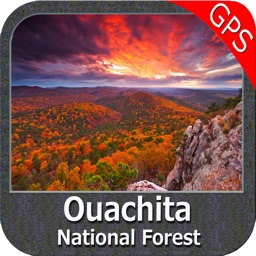 Ouachita National Forest - GPS Map Navigator