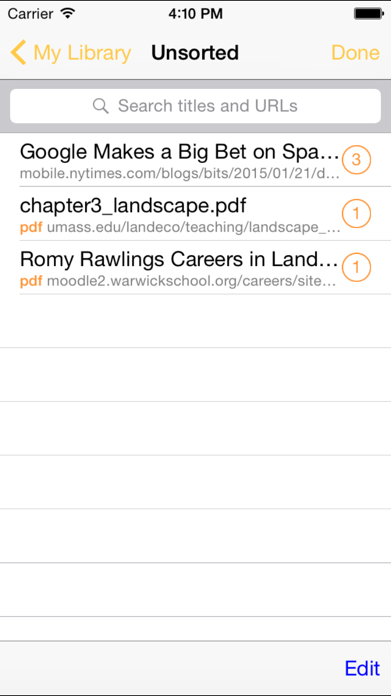 RePaper Web PDF Highlighter Screenshot