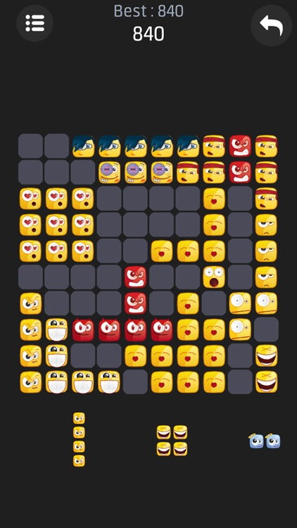 Emoji Block Puzzle screenshot-1
