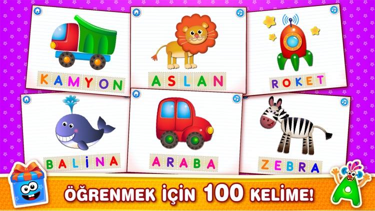 ABC Çocuklar Eğitici Oyunlar 3 screenshot-5
