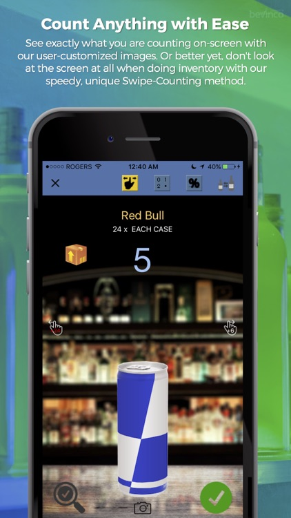 Bevinco Mobile - Bar Inventory