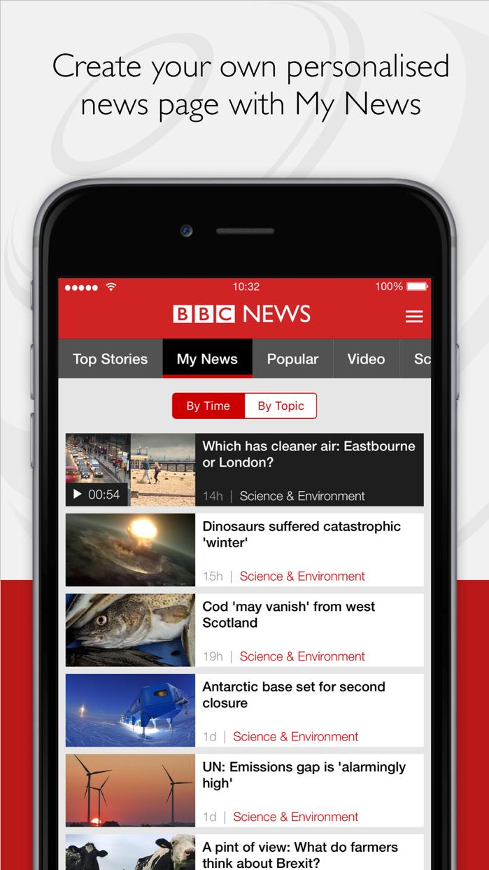 BBC News Screenshot