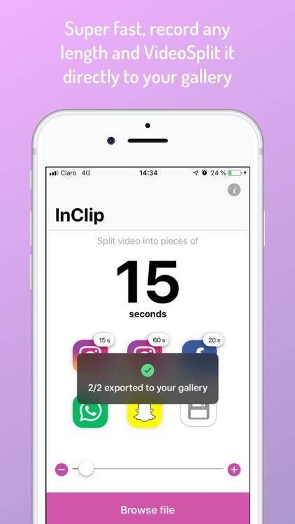 InClip for Instagram screenshot-3