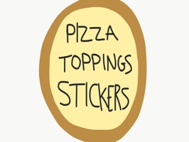 Pizza Toppings Stickers
