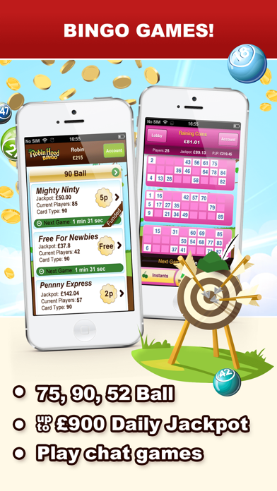 Robin Hood Bingo - Top Games screenshot two