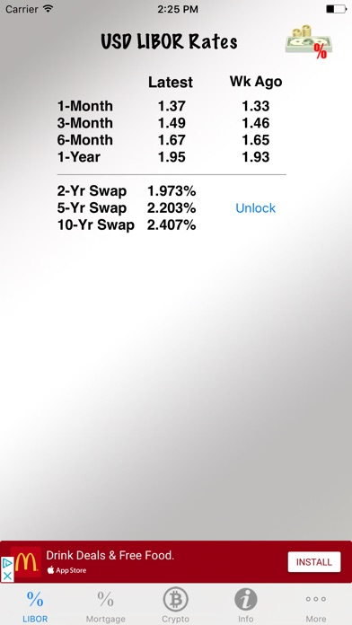 Interest Rate Tracker Скриншоты5