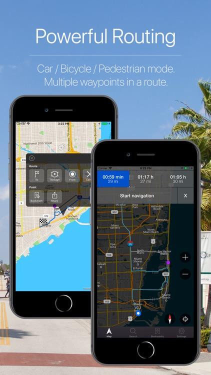 Florida, US Offline Navigation