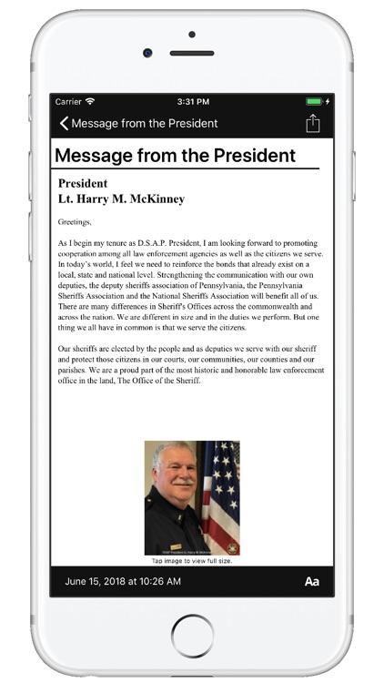 Deputy Sheriffs Assoc of PA