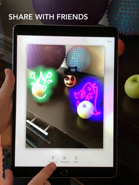 LightSpace - 3D painting in AR