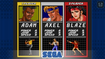 Streets of Rage Classic Screenshots