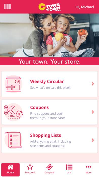C-Town Supermarket AppScreenshot of 2