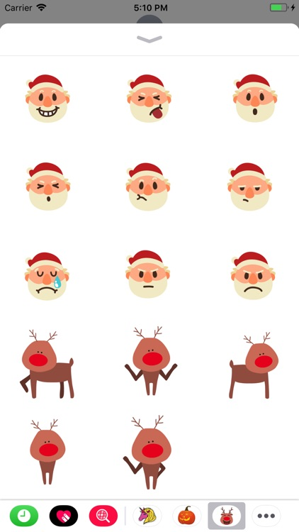 Christmasmoji Sticker Pack screenshot-3