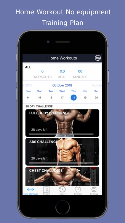 Home Workouts - Fit challenge