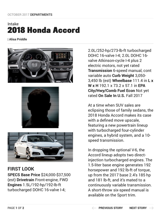 Motor Trend Magazine on the App Store