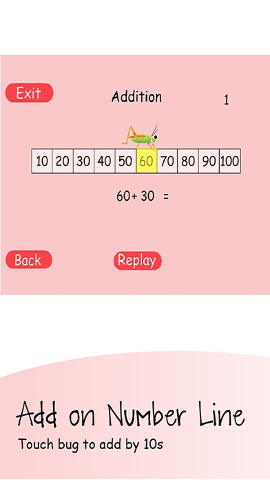 Add & Subtract by 10s screenshot three