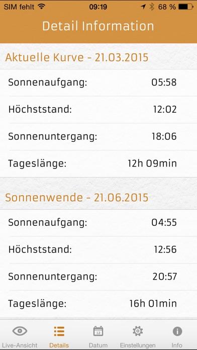 Screenshot for SOLight - Sonne und Licht in Austria App Store