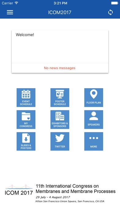 Elsevier Conferences App screenshot 4