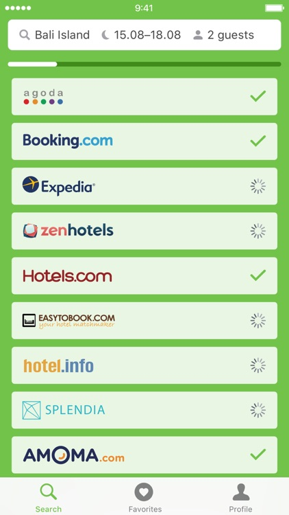 Cheap hotel deals — Hotellook