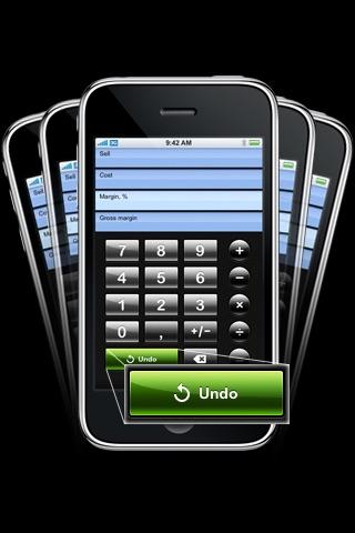 Screenshot of iMargin - Margin Calculator