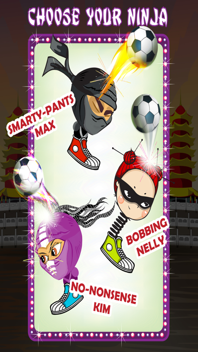 Bobbing Ninja Head Soccer Pro Screenshot 4