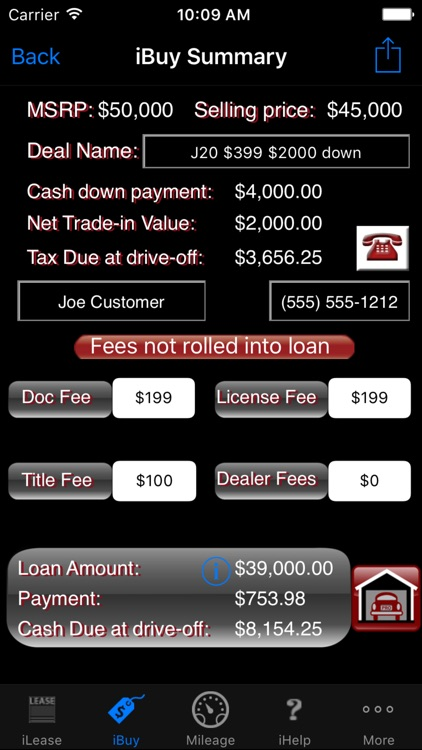 iLeaseMyCar Pro screenshot-8