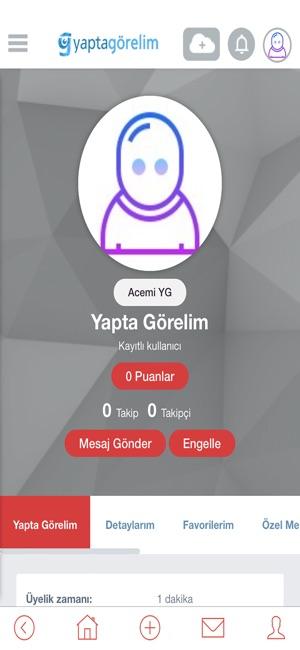YaptaGörelim Screenshot