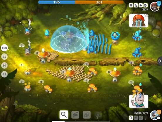 Mushroom Wars 2: Битвы грибов на iPad