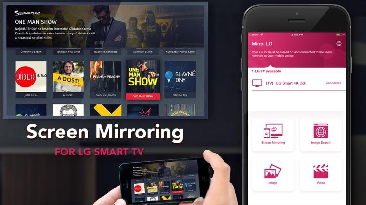 Mirror for LG TV Streamer