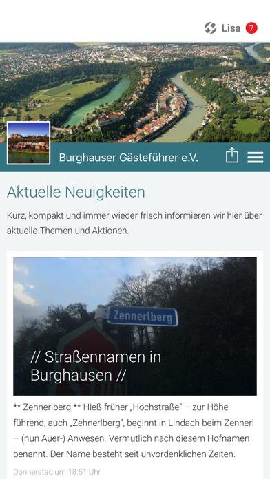Burghauser Gästeführer e.V. screenshot 1